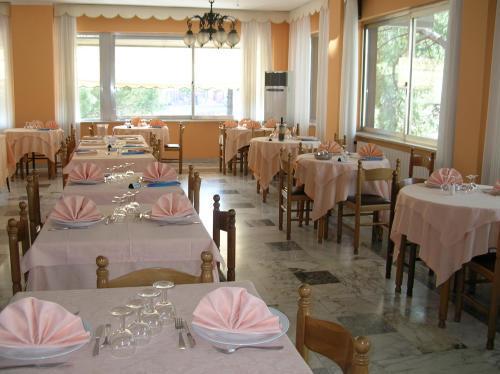 Ristorante dell'Hotel piatti tipici Mediterranei