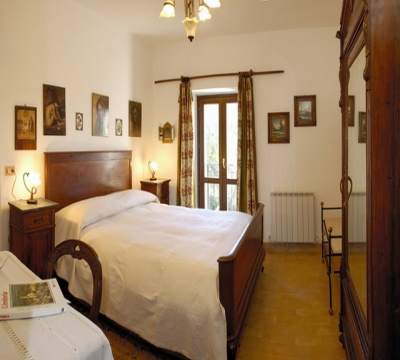 San Paolo Apartment, detail of the double room
