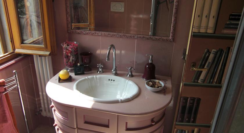 Dettaglio bagno privato