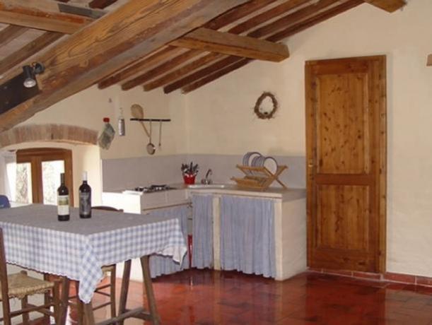 Cucina attrezzata Piccionaia