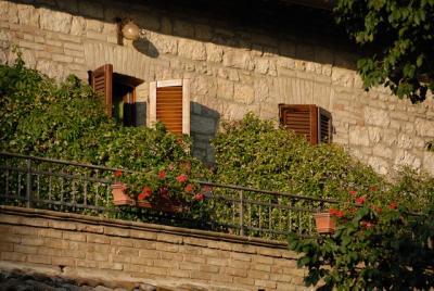 Agriturismo Assisi camere con terrazzo