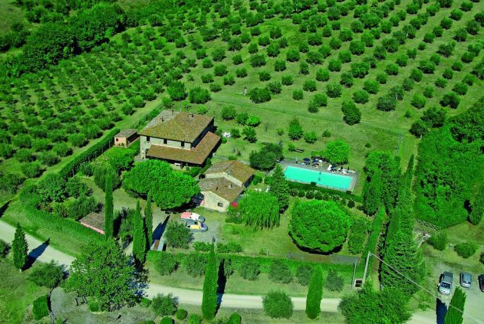 Villa con piscina nel cuore verde dell'Umbria