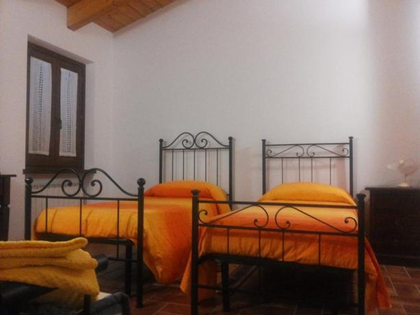 Camera doppia a Montefalco Casale Agrituristico