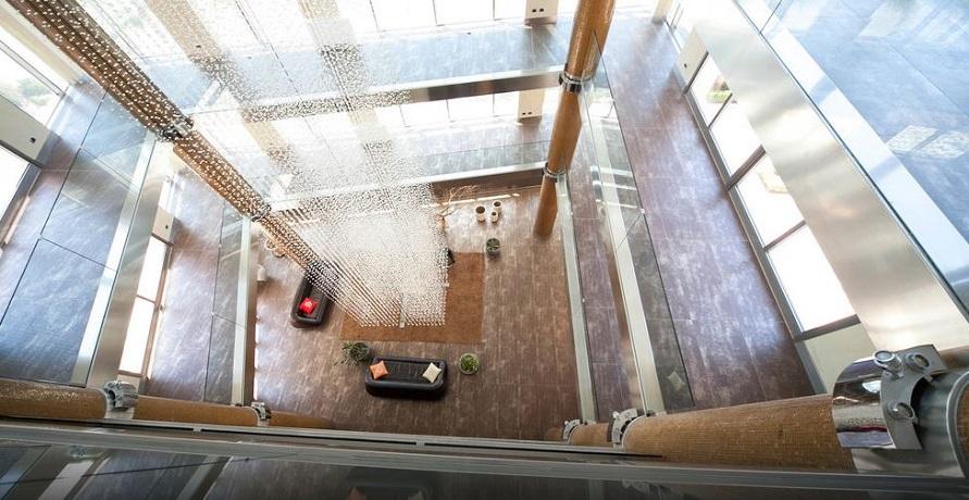 Hall dell'Hotel a Trapani con Centro Benessere