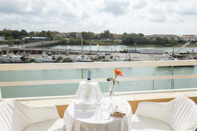Camera con vista porto Castiglione della Pescaia