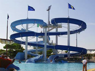 Waterpark Aquasplash in Lignano Sabbiadoro in Italy
