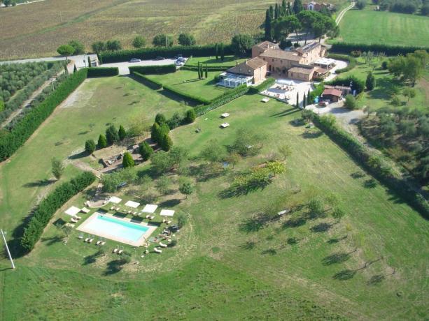 Hotel4stelle con suite sull'albero sul Lago Trasimeno-Umbria