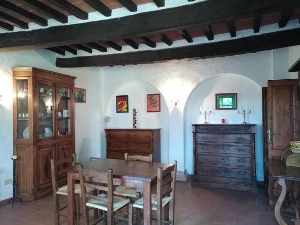 Appartamenti 2-4-6 posti letto con sala pranzo Castiglione-del-Lago