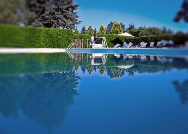 Centro benessere, sauna, vasca idromassaggio, Lago Trasimeno