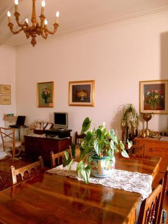 Zona soggiorno B&B nel Lazio