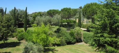 Grande giardino molto curato