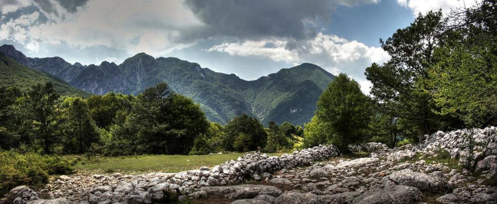 Lo stupendo Parco Nazionale d'Abruzzo