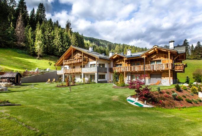 Chalet in Trentino immerso nella natura