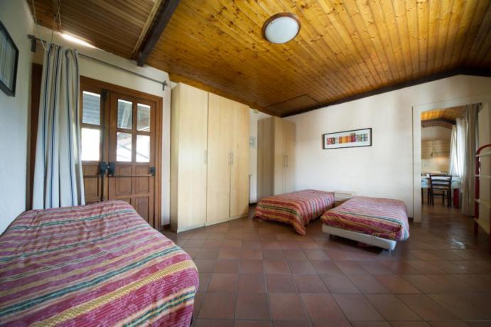 Appartamenti-vacanze bilocali P angolo cottura e soggiorno Bardonecchia
