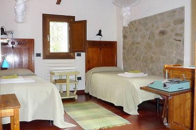 Camera  letti  singoli, vista panoramica