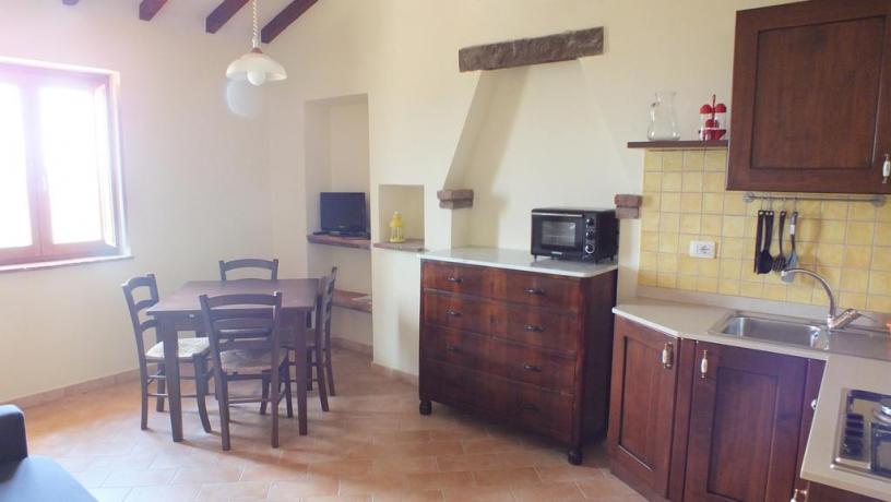 appartamenti con Salone, angolo cucina, Tv in Toscana