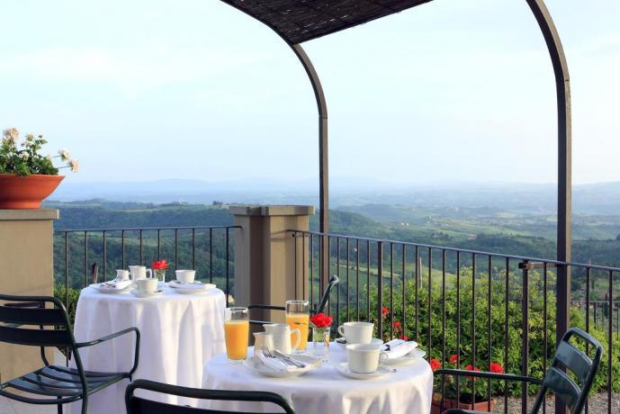 Colazione romantica a Firenze con vista panoramica