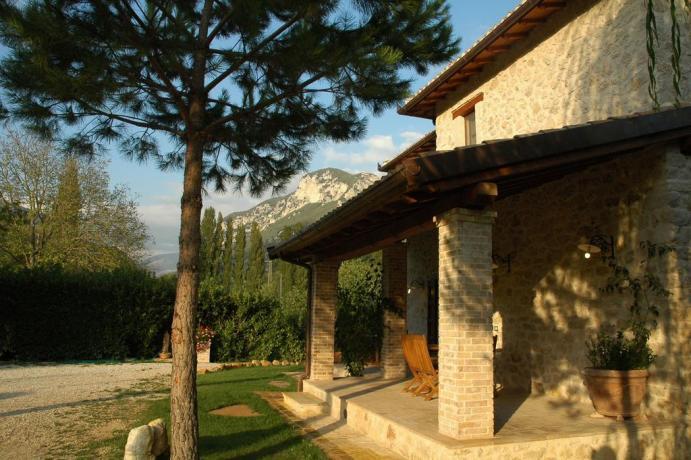 Appartamento Vacanza con giardino agriturismo a Ferentillo
