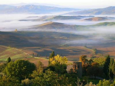 Holiday in Italy, Where to stay in Tuscany