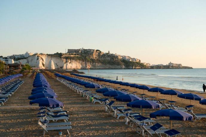 Spiaggia e Panorama di Vieste
