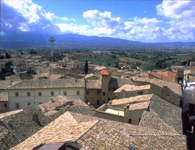 Vista panoramica di Montefalco