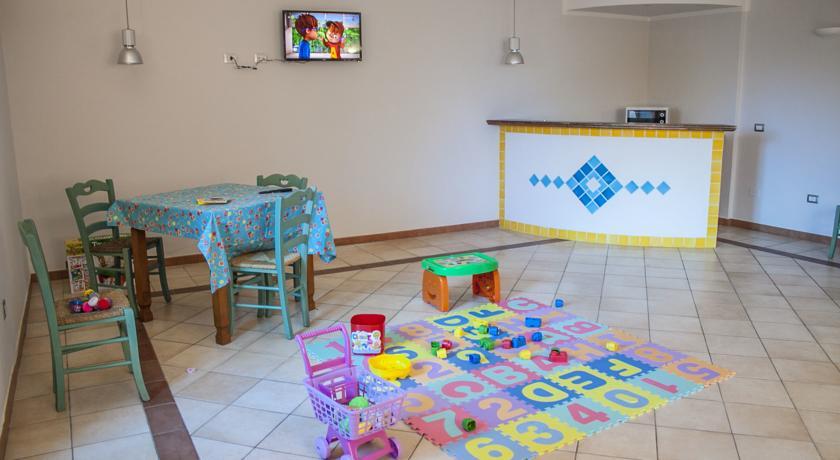 Area Giochi per Bambini in Hotel a Castelsardo