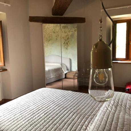 Agriturismo in Umbria a prezzi bassi: Camera matrimoniale