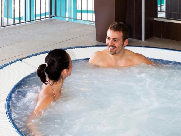Hotel-Centro Wellness con vasche idromassaggio