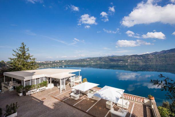 Panorama del Lago Albano