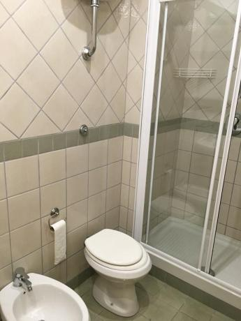 Confortevole Bagno privato in Appartamento Centola Palinuro