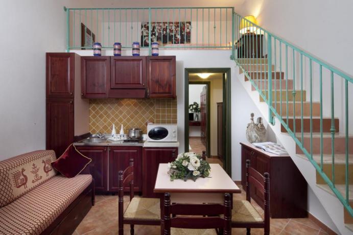 Appartamento Il Mirto con cucina a Cala Ginepro