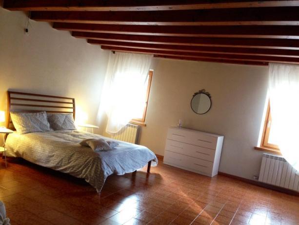 Appartamento con camera matrimoniale in B&B in Veneto