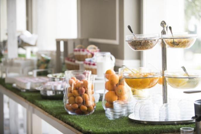 Colazione internazionale hotel4stelle a Manfredonia