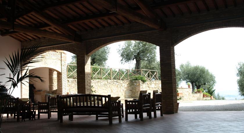 Portico e zona relax