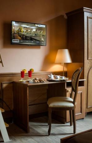 Colazione in camera all'albergo del Salento