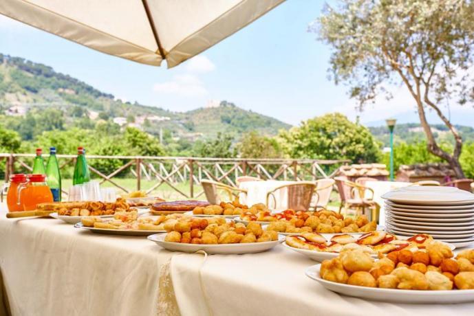 Buffet per matrimonio in Residence Salerno