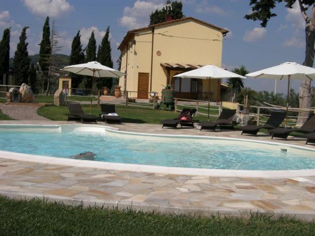 Agriturismo a Campiglia Marittima con piscina e solarium