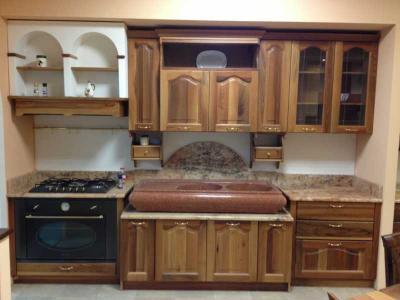 cucina su misura, falegnameria pizzoni spello umbria cucine legno ... - Cucine In Finta Muratura In Offerta
