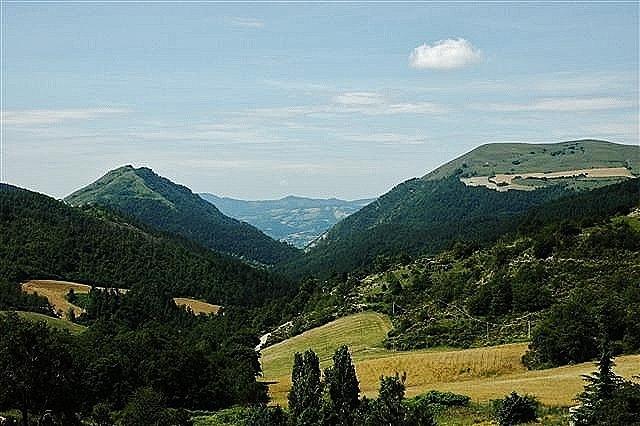 vista panoramica in Umbria