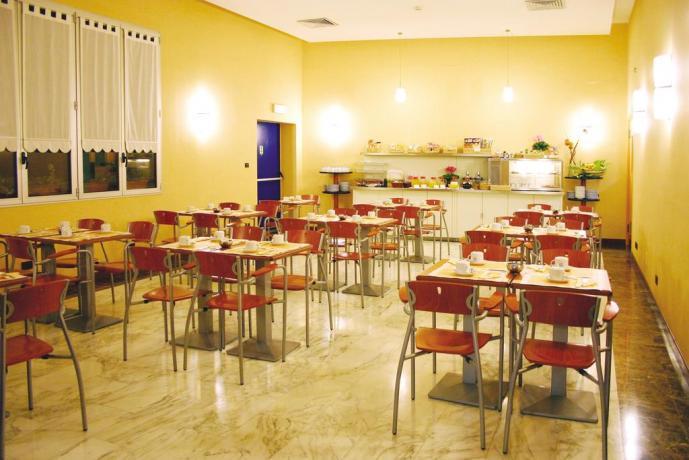 sala per prima colazione, Hotel a Torino