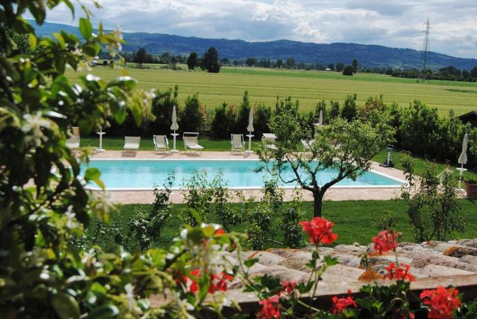 Appartamenti in Umbria con piscina