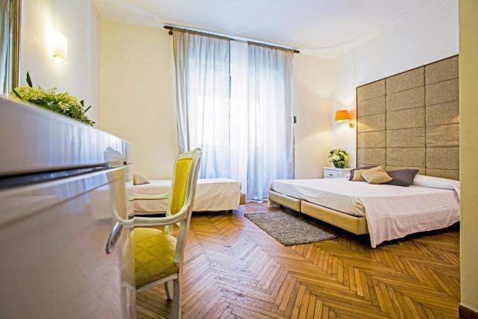 Camere ideali Famiglie nel Cuore di Roma