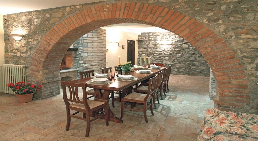 Taverna con camino Casale Orvieto