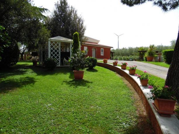 Agriturismo con parcheggio privato custodito Manciano-Grosseto