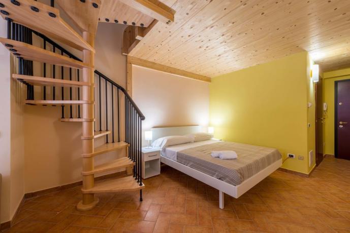 Camera per Famiglia in residence vicino funivia Pietracamela