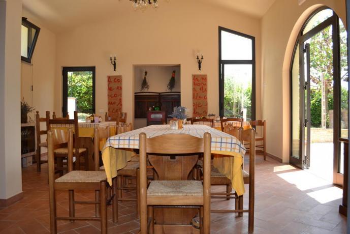 Salotto appartamento in Umbria