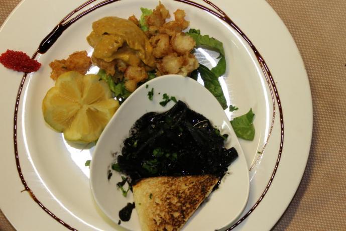 ristorante km0 con cucina tipica siciliana