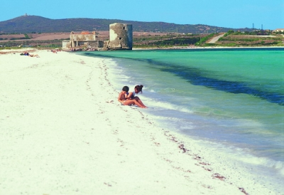 Saline beach (salt)