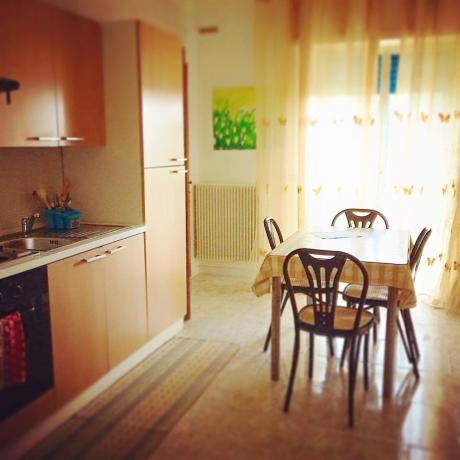 Appartamento con angolo cucina in B&B a Taranto