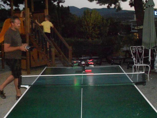 Tavolo ping-pong hotel a Chiusi